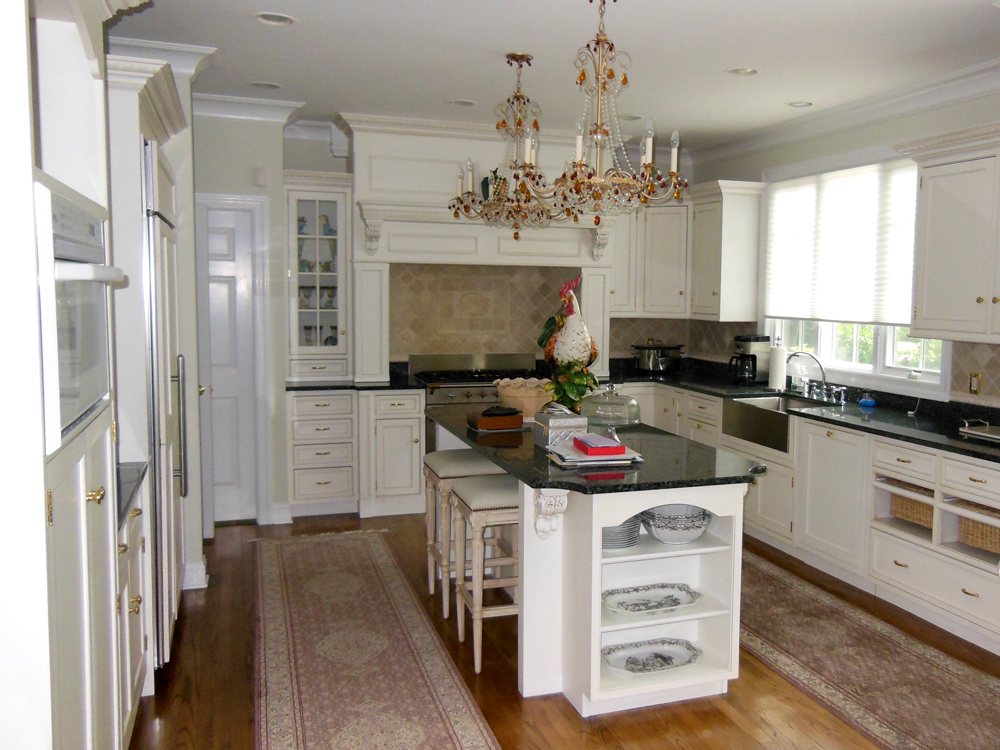 Impress your friends and family with a refinished, renovated, or expanded kitchen area with custom millwork and cabinetry