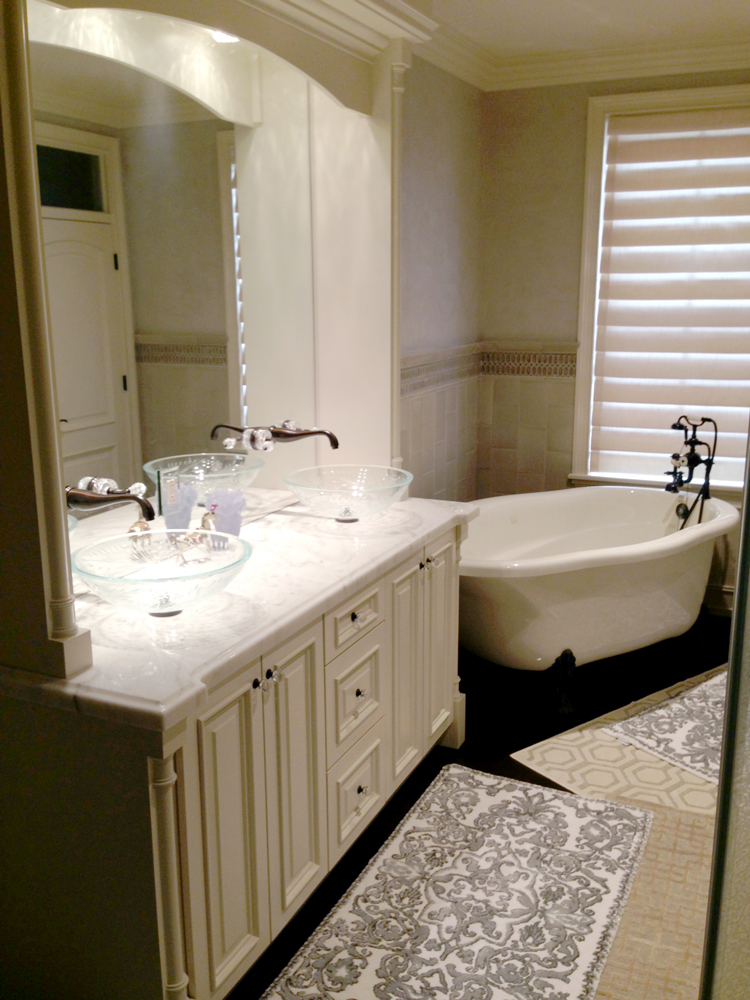 Modernize and make your bathroom a relaxing space to unwind with a renovation by Ricco Builders